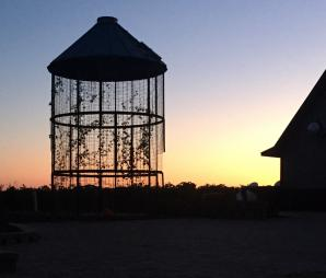 Sunsets are gorgeous at Pedretti's Party Barn, Viroqua