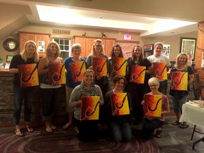 Sip & Paint Event